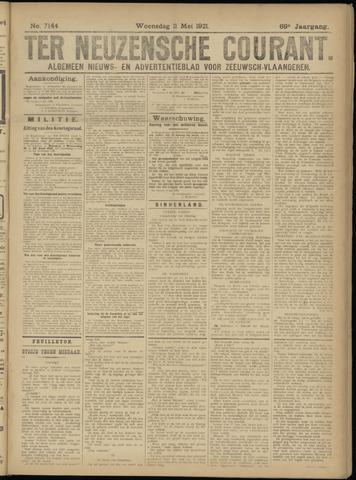 Ter Neuzensche Courant. Algemeen Nieuws- en Advertentieblad voor Zeeuwsch-Vlaanderen / Neuzensche Courant ... (idem) / (Algemeen) nieuws en advertentieblad voor Zeeuwsch-Vlaanderen 1921-05-11
