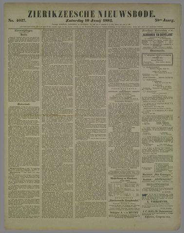 Zierikzeesche Nieuwsbode 1882-06-10