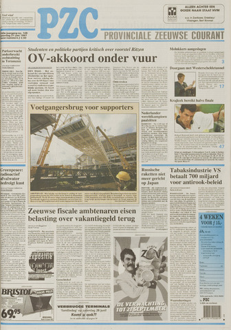 Provinciale Zeeuwse Courant 1997-06-21