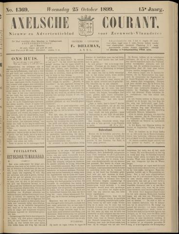 Axelsche Courant 1899-10-25
