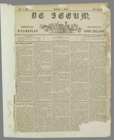 De Zeeuw. Christelijk-historisch nieuwsblad voor Zeeland 1896-10-01