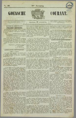 Goessche Courant 1856-08-11