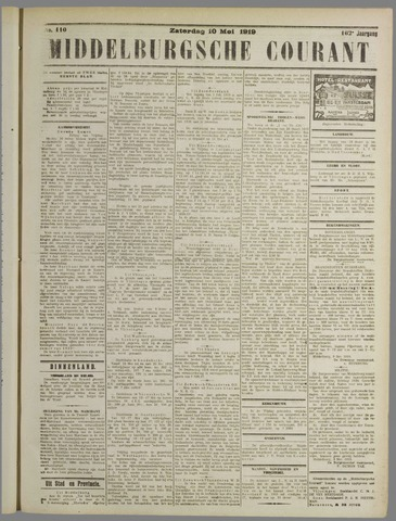 Middelburgsche Courant 1919-05-10