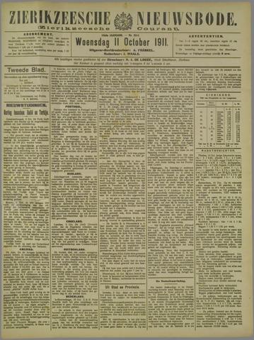 Zierikzeesche Nieuwsbode 1911-10-11