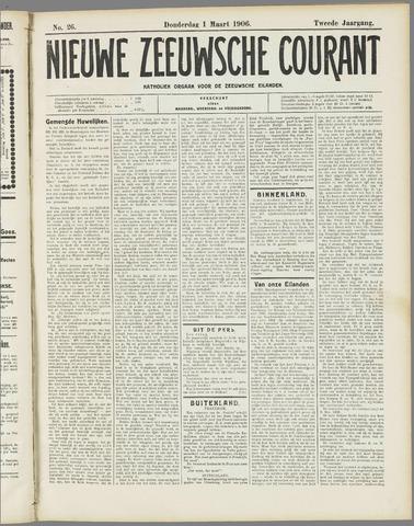 Nieuwe Zeeuwsche Courant 1906-03-01