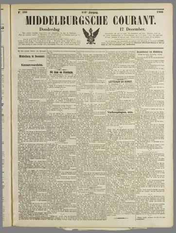 Middelburgsche Courant 1908-12-17