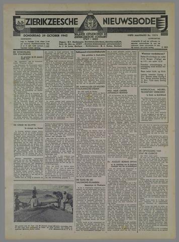 Zierikzeesche Nieuwsbode 1942-10-29