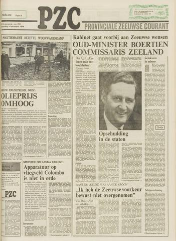 Provinciale Zeeuwse Courant 1974-12-14