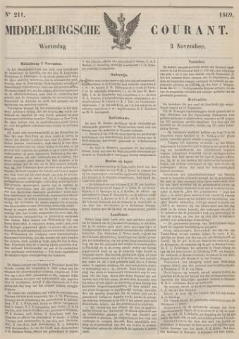 Middelburgsche Courant 1869-11-03