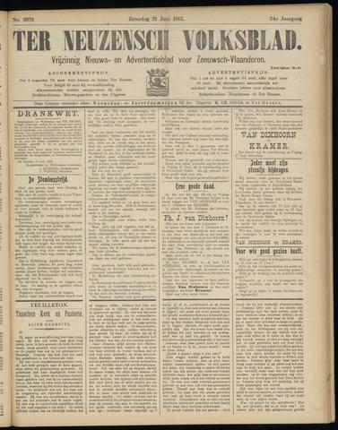 Ter Neuzensch Volksblad. Vrijzinnig nieuws- en advertentieblad voor Zeeuwsch- Vlaanderen / Zeeuwsch Nieuwsblad. Nieuws- en advertentieblad voor Zeeland 1913-06-21