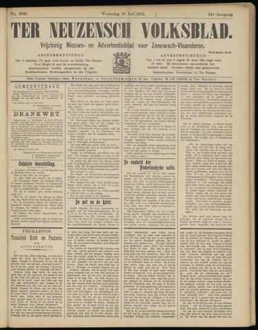 Ter Neuzensch Volksblad. Vrijzinnig nieuws- en advertentieblad voor Zeeuwsch- Vlaanderen / Zeeuwsch Nieuwsblad. Nieuws- en advertentieblad voor Zeeland 1913-07-16