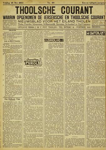 Ierseksche en Thoolsche Courant 1934-05-18
