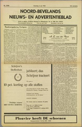 Noord-Bevelands Nieuws- en advertentieblad 1961-05-06