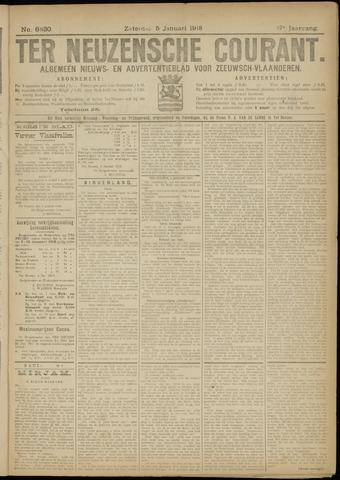 Ter Neuzensche Courant. Algemeen Nieuws- en Advertentieblad voor Zeeuwsch-Vlaanderen / Neuzensche Courant ... (idem) / (Algemeen) nieuws en advertentieblad voor Zeeuwsch-Vlaanderen 1918-01-05