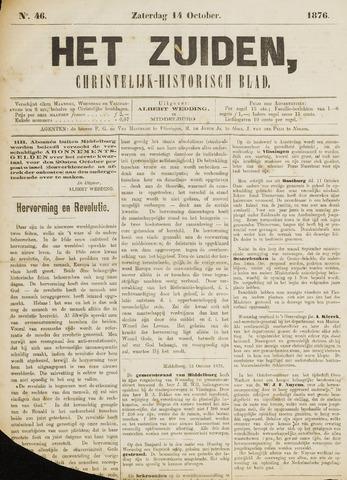 Het Zuiden, Christelijk-historisch blad 1876-10-14