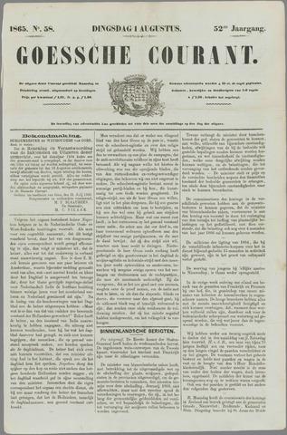 Goessche Courant 1865-08-01