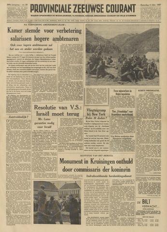 Provinciale Zeeuwse Courant 1957-02-02