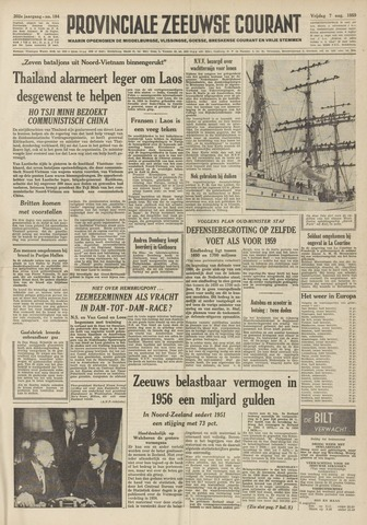 Provinciale Zeeuwse Courant 1959-08-07