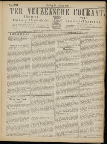 Ter Neuzensche Courant. Algemeen Nieuws- en Advertentieblad voor Zeeuwsch-Vlaanderen / Neuzensche Courant ... (idem) / (Algemeen) nieuws en advertentieblad voor Zeeuwsch-Vlaanderen 1901-01-22