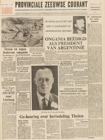 Provinciale Zeeuwse Courant 1966-06-29