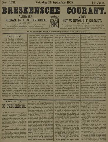 Breskensche Courant 1905-09-23