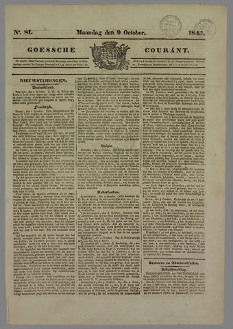 Goessche Courant 1843-10-09
