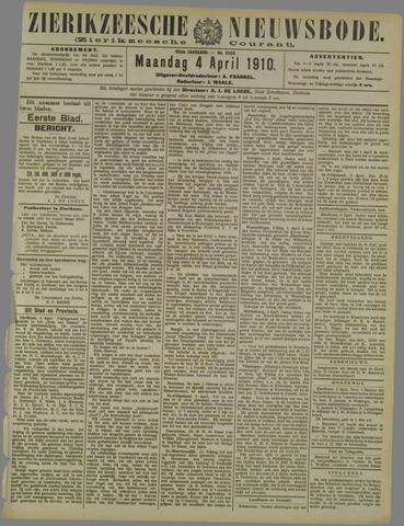 Zierikzeesche Nieuwsbode 1910-04-04