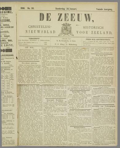 De Zeeuw. Christelijk-historisch nieuwsblad voor Zeeland 1888-01-26