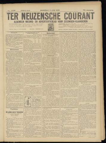 Ter Neuzensche Courant. Algemeen Nieuws- en Advertentieblad voor Zeeuwsch-Vlaanderen / Neuzensche Courant ... (idem) / (Algemeen) nieuws en advertentieblad voor Zeeuwsch-Vlaanderen 1935-06-03