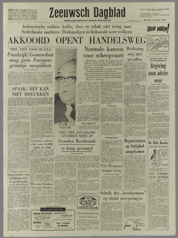 Zeeuwsch Dagblad 1962-08-04