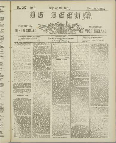 De Zeeuw. Christelijk-historisch nieuwsblad voor Zeeland 1912-06-28