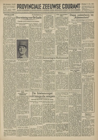 Provinciale Zeeuwse Courant 1947-10-21