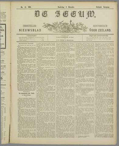 De Zeeuw. Christelijk-historisch nieuwsblad voor Zeeland 1898-11-03