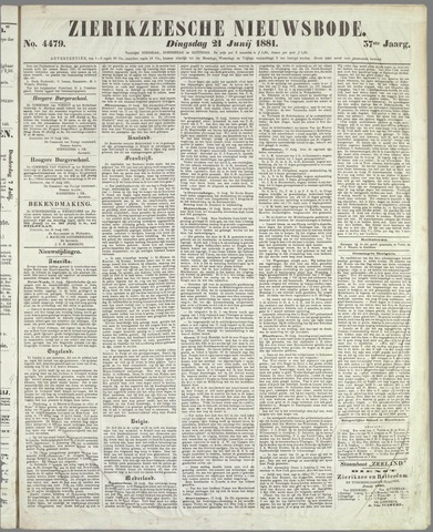 Zierikzeesche Nieuwsbode 1881-06-21