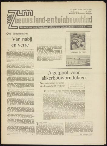 Zeeuwsch landbouwblad ... ZLM land- en tuinbouwblad 1965-10-29