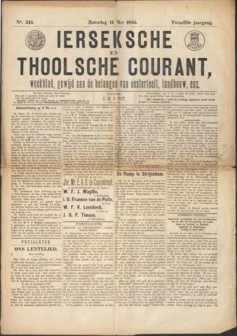Ierseksche en Thoolsche Courant 1895-05-11