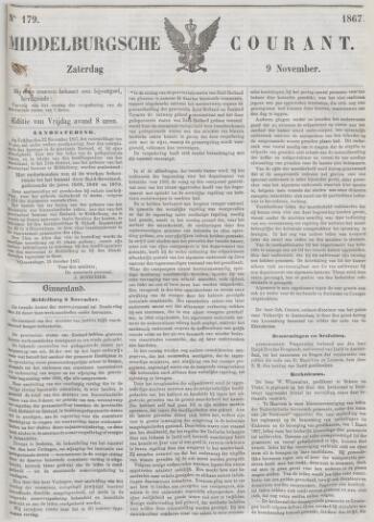 Middelburgsche Courant 1867-11-09