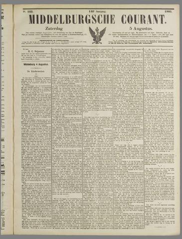 Middelburgsche Courant 1905-08-05
