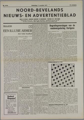 Noord-Bevelands Nieuws- en advertentieblad 1977-11-17