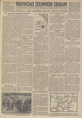 Provinciale Zeeuwse Courant 1942-07-16