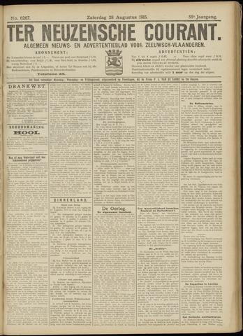 Ter Neuzensche Courant. Algemeen Nieuws- en Advertentieblad voor Zeeuwsch-Vlaanderen / Neuzensche Courant ... (idem) / (Algemeen) nieuws en advertentieblad voor Zeeuwsch-Vlaanderen 1915-08-28
