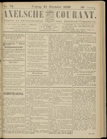 Axelsche Courant 1920-12-24