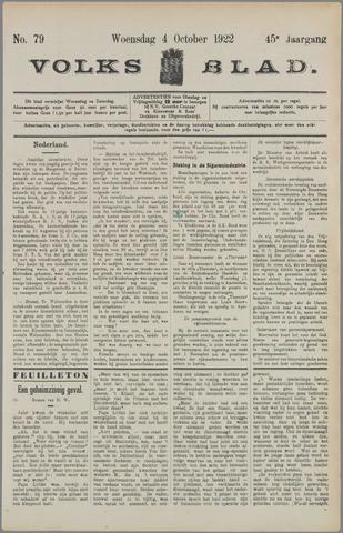 Volksblad 1922-10-04