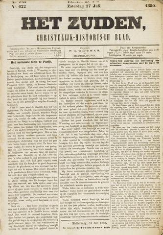 Het Zuiden, Christelijk-historisch blad 1880-07-17