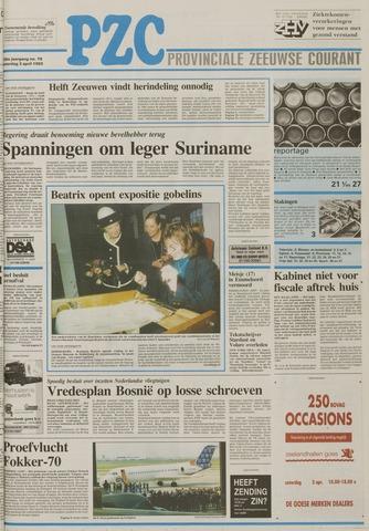 Provinciale Zeeuwse Courant 1993-04-03