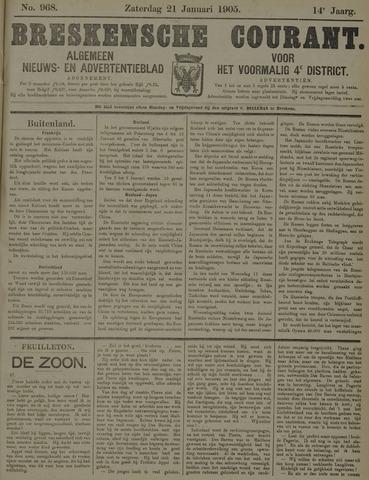 Breskensche Courant 1905-01-21