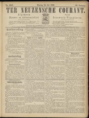 Ter Neuzensche Courant. Algemeen Nieuws- en Advertentieblad voor Zeeuwsch-Vlaanderen / Neuzensche Courant ... (idem) / (Algemeen) nieuws en advertentieblad voor Zeeuwsch-Vlaanderen 1900-07-24