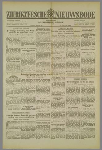 Zierikzeesche Nieuwsbode 1952-02-15