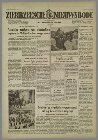 Zierikzeesche Nieuwsbode 1958-08-22