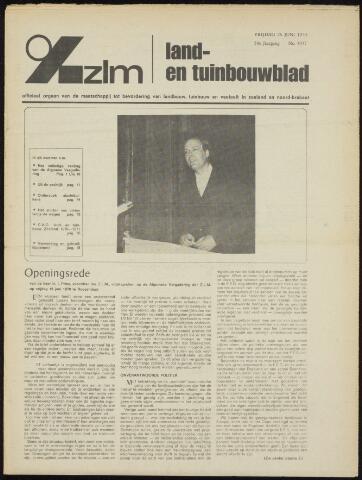 Zeeuwsch landbouwblad ... ZLM land- en tuinbouwblad 1970-06-24